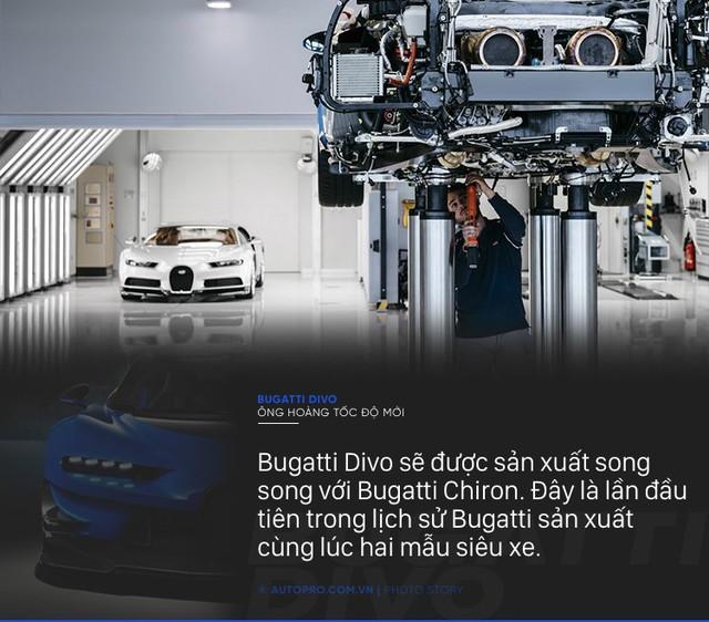 [Photo Story] 8 điều đặc biệt về Bugatti Divo - Ông hoàng tốc độ mới đắt gấp rưỡi Chiron - Ảnh 5.