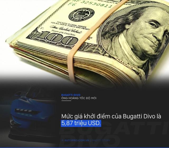[Photo Story] 8 điều đặc biệt về Bugatti Divo - Ông hoàng tốc độ mới đắt gấp rưỡi Chiron - Ảnh 6.