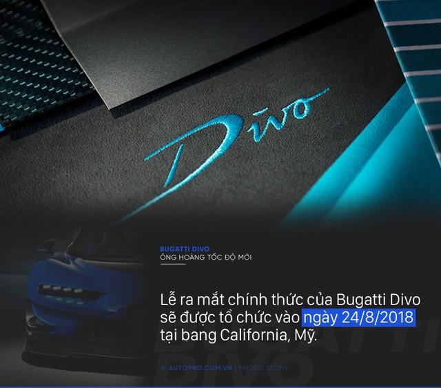 [Photo Story] 8 điều đặc biệt về Bugatti Divo - Ông hoàng tốc độ mới đắt gấp rưỡi Chiron - Ảnh 8.