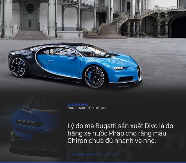 [Photo Story] 8 điều đặc biệt về Bugatti Divo - Ông hoàng tốc độ mới đắt gấp rưỡi Chiron - Ảnh 2.