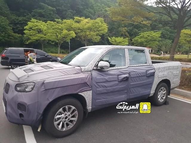 Bất ngờ lộ diện bán tải Hyundai đầy bí ẩn chạy thử nghiệm, có thể cạnh tranh Ranger và Hilux - Ảnh 1.