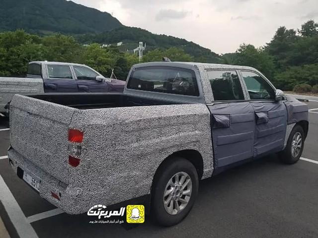 Bất ngờ lộ diện bán tải Hyundai đầy bí ẩn chạy thử nghiệm, có thể cạnh tranh Ranger và Hilux - Ảnh 2.