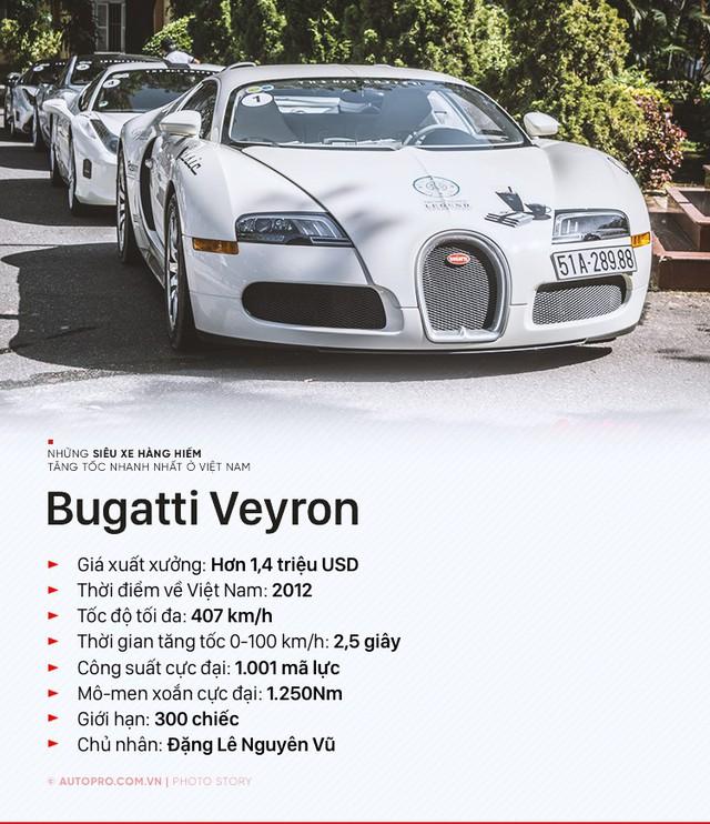 Ngoài Bugatti Veyron thì những siêu xe hàng hiếm nào tăng tốc nhanh nhất Việt Nam? - Ảnh 1.