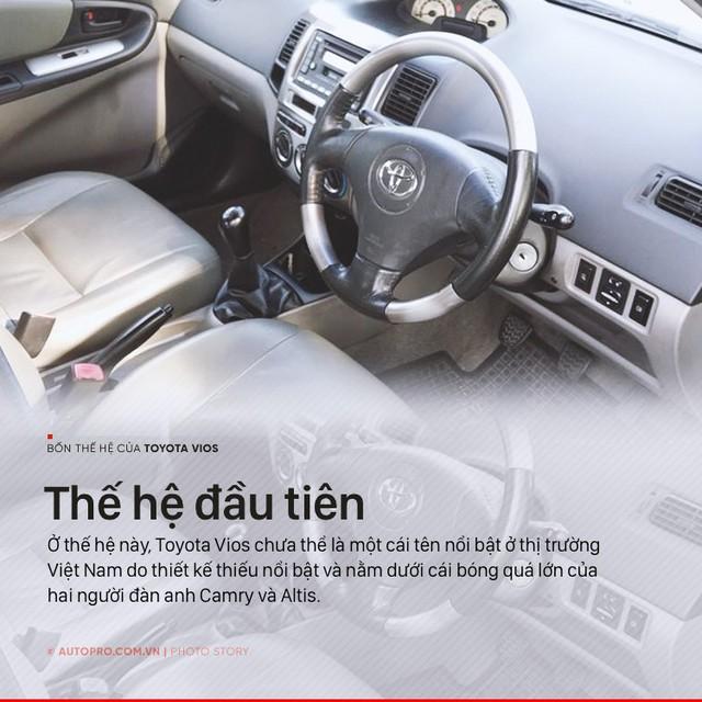 [Photo Story] 3 lần lột xác, thoát bóng bảo thủ của Toyota Vios - Ảnh 2.