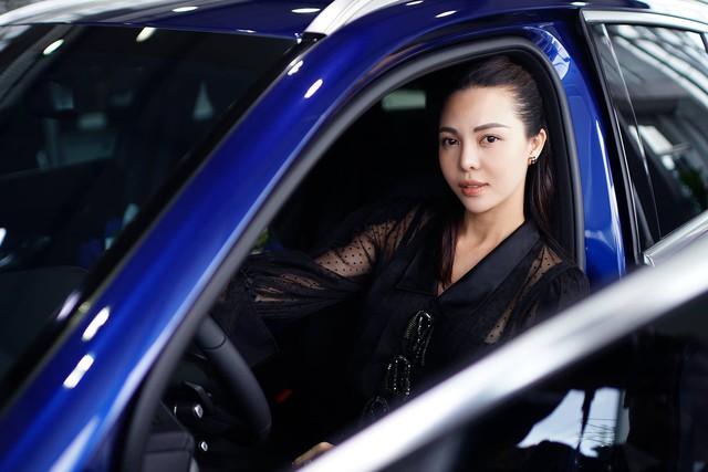Á hậu Trà Giang mua Mercedes-Benz GLC 200 bản độ chính hãng phong cách AMG - Ảnh 3.