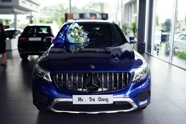 Á hậu Trà Giang mua Mercedes-Benz GLC 200 bản độ chính hãng phong cách AMG - Ảnh 2.
