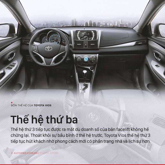 [Photo Story] 3 lần lột xác, thoát bóng bảo thủ của Toyota Vios - Ảnh 5.