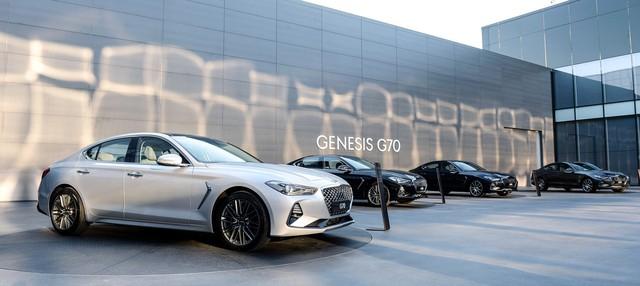 Công bố thông số chi tiết Genesis G70 2019 - Khi xe Hàn đe doạ xe Đức - Ảnh 2.