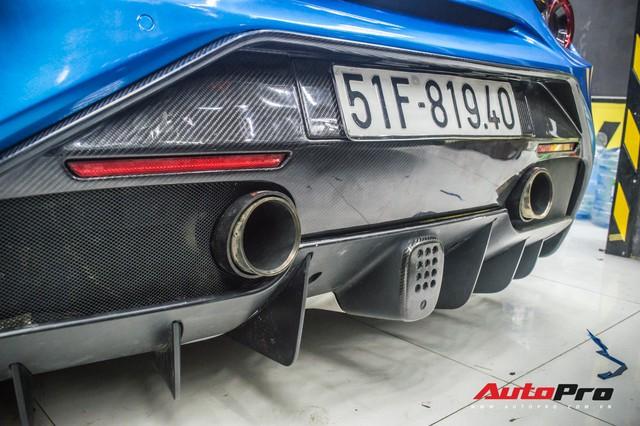 Siêu xe Ferrari 488 GTB của dân chơi Đà Lạt độ bodykit SVR trị giá hàng trăm triệu đồng - Ảnh 7.