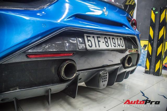 Siêu xe Ferrari 488 GTB của dân chơi Đà Lạt độ bodykit SVR trị giá hàng trăm triệu đồng - Ảnh 4.