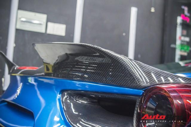 Siêu xe Ferrari 488 GTB của dân chơi Đà Lạt độ bodykit SVR trị giá hàng trăm triệu đồng - Ảnh 6.