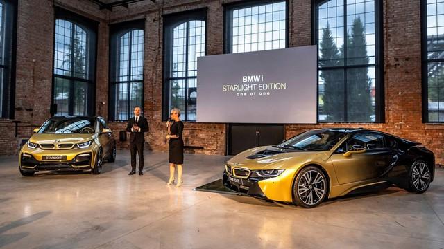 BMW tung bản đặc biệt cho i3 và i8 dát vàng 24 carat - Ảnh 2.