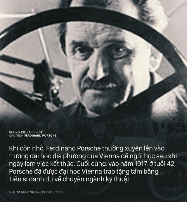 Từng học chui, người đàn ông này đã tạo nên Porsche huy hoàng như ngày nay - Ảnh 1.