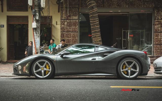 Siêu xe Ferrari 488 GTB của Cường Đô-la tiến ra Hà Nội - Ảnh 2.