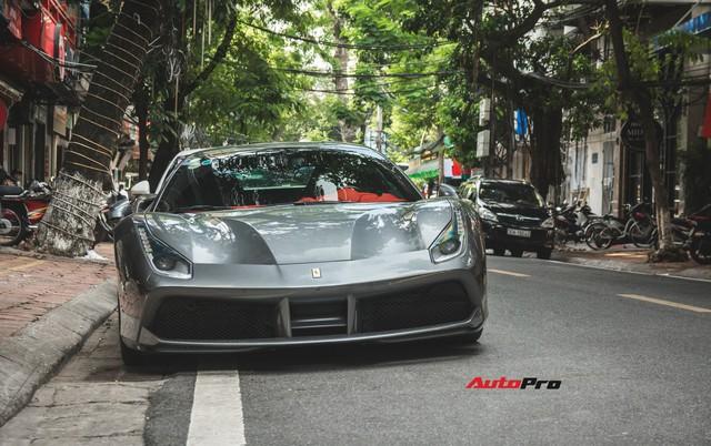Siêu xe Ferrari 488 GTB của Cường Đô-la tiến ra Hà Nội - Ảnh 4.