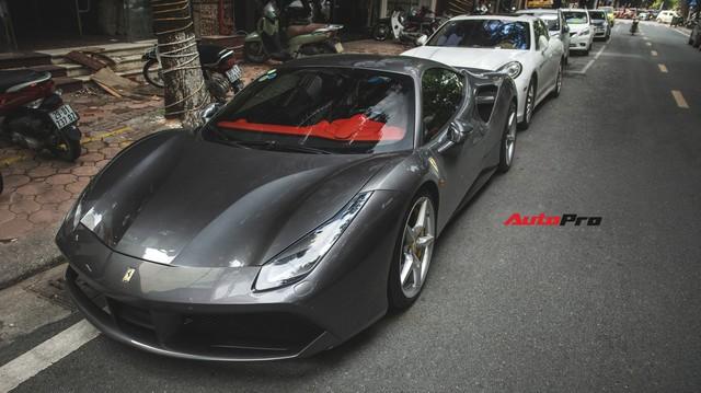 Siêu xe Ferrari 488 GTB của Cường Đô-la tiến ra Hà Nội