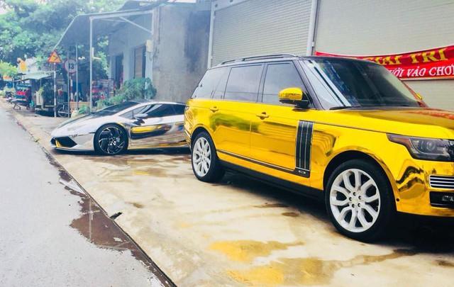 Lamborghini Huracan hàng độc và Range Rover của dân chơi xe Bạc Liêu thay dàn áo chrome kiểu đại gia Dubai - Ảnh 3.