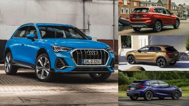 So găng trực diện Audi Q3 2019 với BMW X1, Mercedes-Benz GLA