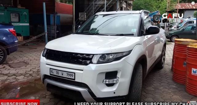 Fan cuồng biến Suzuki Vitara thành Range Rover Evoque - Ảnh 2.