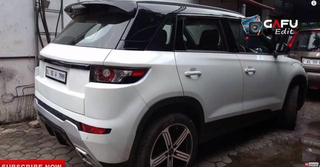 Fan cuồng biến Suzuki Vitara thành Range Rover Evoque - Ảnh 4.