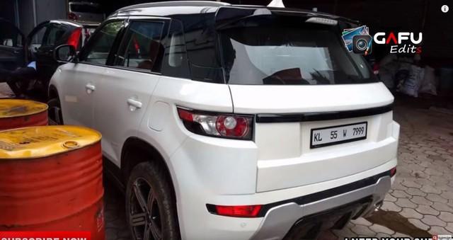 Fan cuồng biến Suzuki Vitara thành Range Rover Evoque - Ảnh 5.