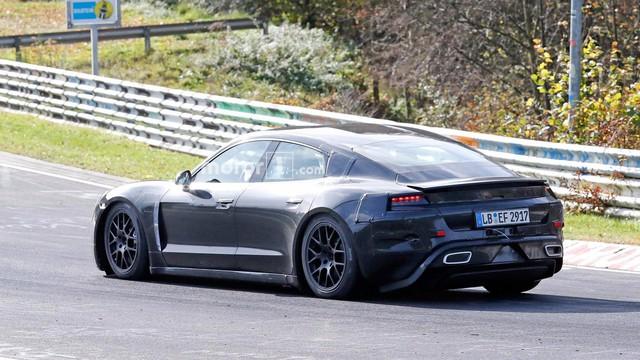 Porsche công bố thông số kỹ thuật Taycan: Siêu xe 600 mã lực - Ảnh 3.