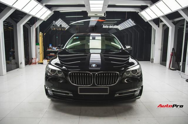 Chạy 4,5 vạn km, BMW 7-Series 2 năm tuổi rao giá dưới 2 tỷ đồng - Ảnh 1.