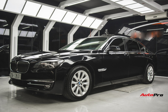 Chạy 4,5 vạn km, BMW 7-Series 2 năm tuổi rao giá dưới 2 tỷ đồng - Ảnh 3.