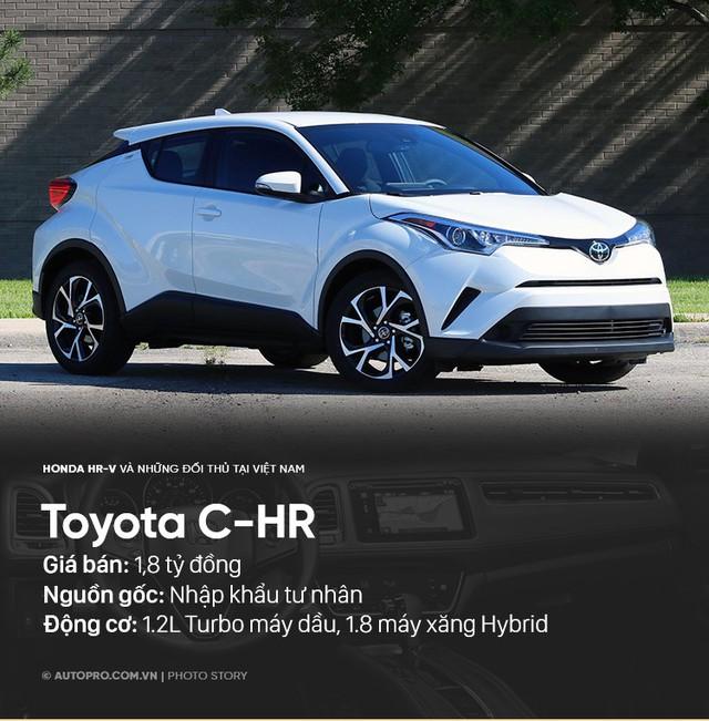 Honda HR-V sẽ phải cạnh tranh với những xe nào tại Việt Nam? - Ảnh 3.