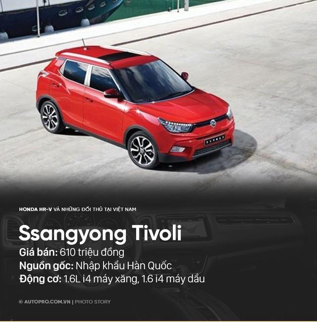 Honda HR-V sẽ phải cạnh tranh với những xe nào tại Việt Nam? - Ảnh 4.