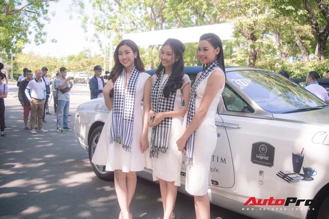 Bộ ba hoa hậu, á hậu cùng các người đẹp Việt Nam xuất hiện bên Bugatti Veyron của Trung Nguyên - Ảnh 5.