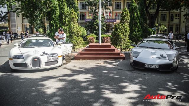 Bộ ba hoa hậu, á hậu cùng các người đẹp Việt Nam xuất hiện bên Bugatti Veyron của Trung Nguyên - Ảnh 8.