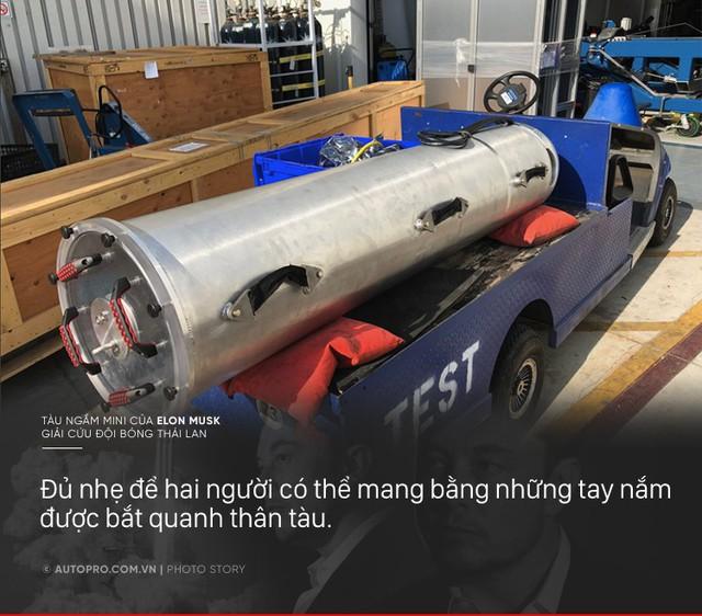 [Photo Story] Có gì đặc biệt trong tàu ngầm mini Tesla mang tới giải cứu các cầu thủ Thái Lan - Ảnh 2.