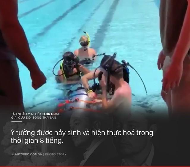 [Photo Story] Có gì đặc biệt trong tàu ngầm mini Tesla mang tới giải cứu các cầu thủ Thái Lan - Ảnh 6.