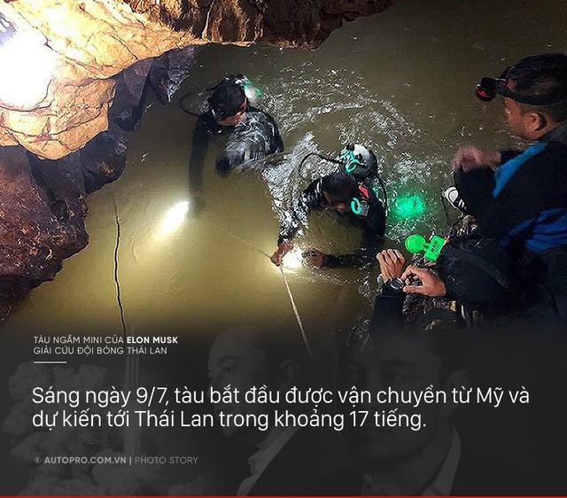 [Photo Story] Có gì đặc biệt trong tàu ngầm mini Tesla mang tới giải cứu các cầu thủ Thái Lan - Ảnh 8.