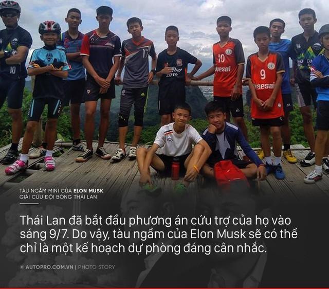 [Photo Story] Có gì đặc biệt trong tàu ngầm mini Tesla mang tới giải cứu các cầu thủ Thái Lan - Ảnh 9.