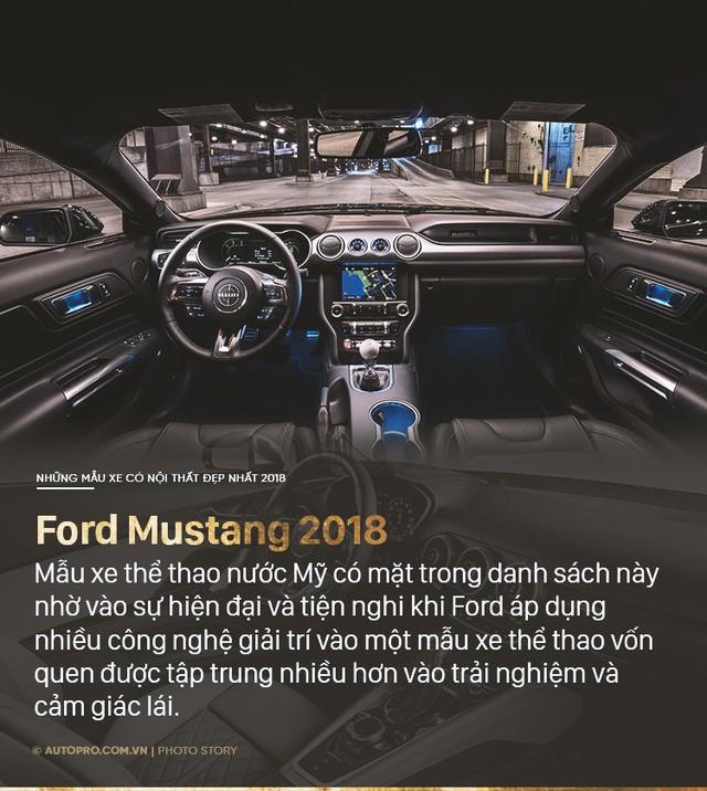 10 xe có nội thất đẹp nhất 2018 - Thiếu vắng S-Class và 7-Series - Ảnh 6.