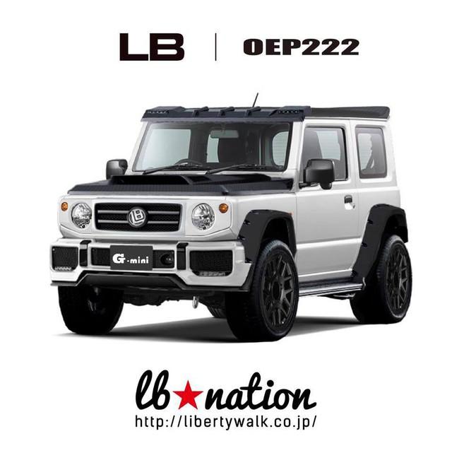 Suzuki Jimny độ LibertyWalk: Đâu khác Mercedes-Benz G-Class là mấy? - Ảnh 1.