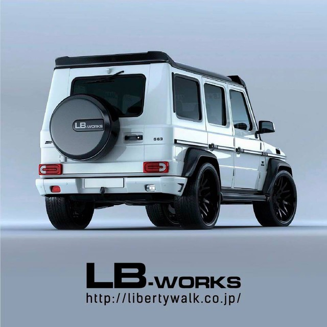 Suzuki Jimny độ LibertyWalk: Đâu khác Mercedes-Benz G-Class là mấy? - Ảnh 3.