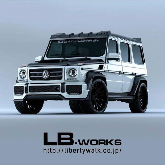 Suzuki Jimny độ LibertyWalk: Đâu khác Mercedes-Benz G-Class là mấy? - Ảnh 2.