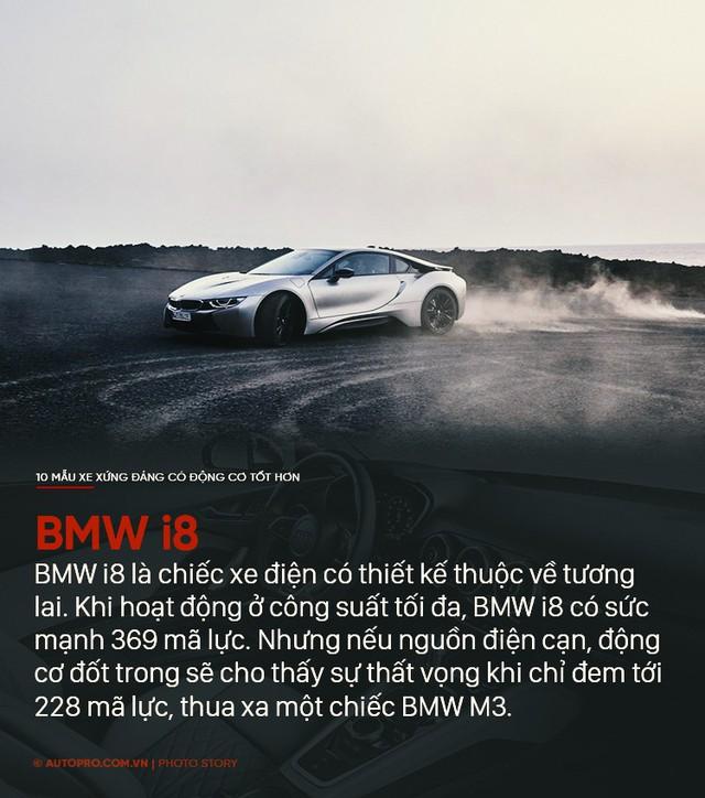 Thiết kế đẹp mắt chưa đủ, 10 mẫu xe sau xứng đáng có động cơ tốt hơn - Ảnh 10.