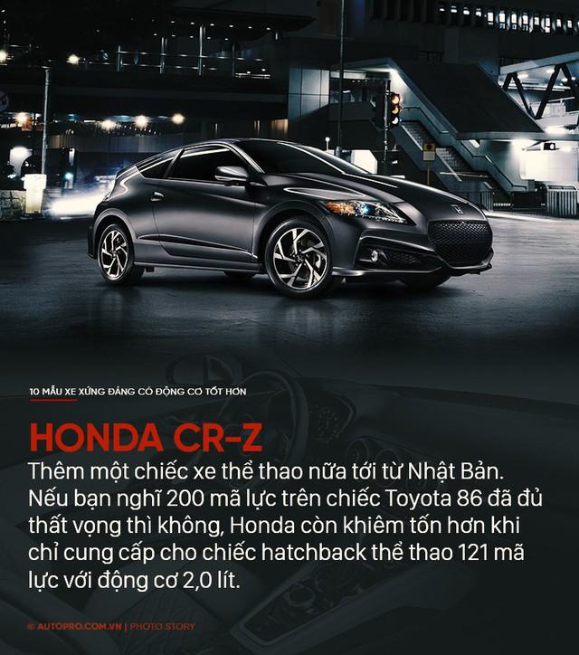 Thiết kế đẹp mắt chưa đủ, 10 mẫu xe sau xứng đáng có động cơ tốt hơn - Ảnh 4.