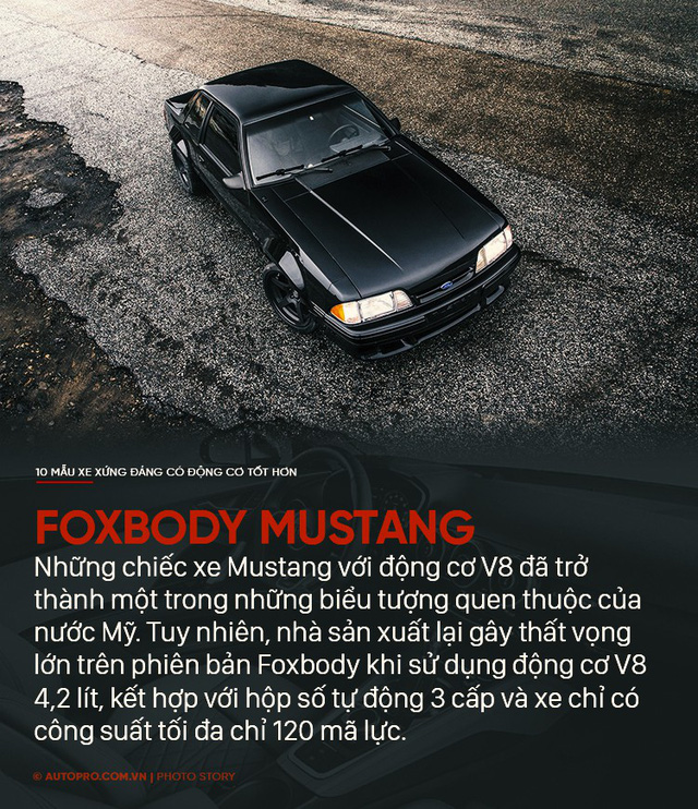 Thiết kế đẹp mắt chưa đủ, 10 mẫu xe sau xứng đáng có động cơ tốt hơn - Ảnh 5.