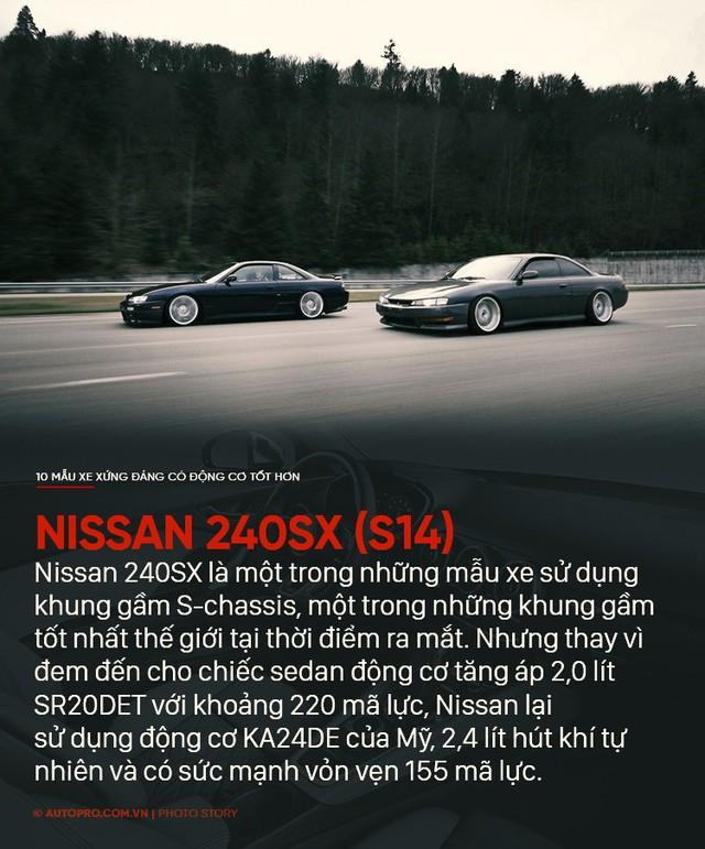 Thiết kế đẹp mắt chưa đủ, 10 mẫu xe sau xứng đáng có động cơ tốt hơn - Ảnh 6.