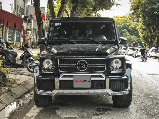 Mercedes-Benz G63 AMG bản độ Brabus hầm hố 780 mã lực của đại gia Hà Nội - Ảnh 1.