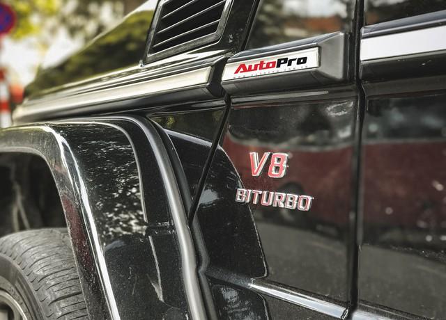 Mercedes-Benz G63 AMG bản độ Brabus hầm hố 780 mã lực của đại gia Hà Nội - Ảnh 9.