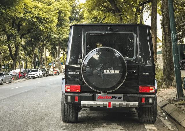 Mercedes-Benz G63 AMG bản độ Brabus hầm hố 780 mã lực của đại gia Hà Nội - Ảnh 2.