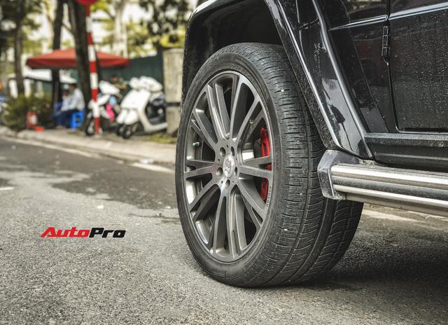 Mercedes-Benz G63 AMG bản độ Brabus hầm hố 780 mã lực của đại gia Hà Nội - Ảnh 10.