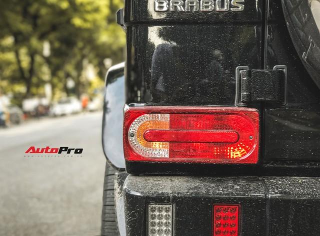 Mercedes-Benz G63 AMG bản độ Brabus hầm hố 780 mã lực của đại gia Hà Nội - Ảnh 12.