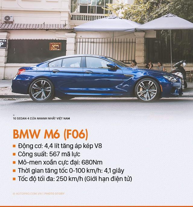 Đây chính là 10 sedan 4 cửa nhanh nhất tại Việt Nam - Ảnh 4.